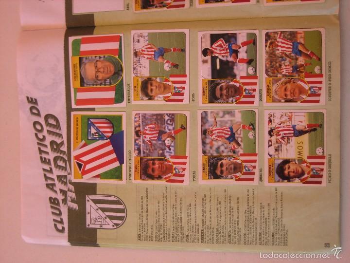 Coleccionismo deportivo: ÁLBUM CROMOS ESTE FÚTBOL LIGA 91 92 1991 1992 CON 282 CROMOS - FOTOS DE TODAS LAS HOJAS - Foto 22 - 60004411