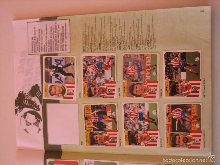 Coleccionismo deportivo: ÁLBUM CROMOS ESTE FÚTBOL LIGA 91 92 1991 1992 CON 282 CROMOS - FOTOS DE TODAS LAS HOJAS - Foto 23 - 60004411