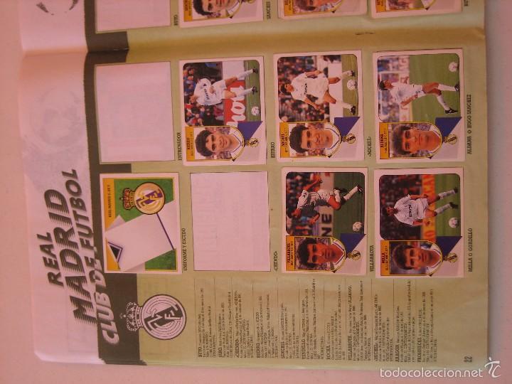 Coleccionismo deportivo: ÁLBUM CROMOS ESTE FÚTBOL LIGA 91 92 1991 1992 CON 282 CROMOS - FOTOS DE TODAS LAS HOJAS - Foto 24 - 60004411