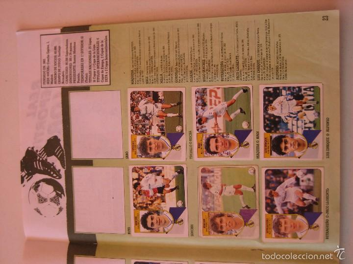 Coleccionismo deportivo: ÁLBUM CROMOS ESTE FÚTBOL LIGA 91 92 1991 1992 CON 282 CROMOS - FOTOS DE TODAS LAS HOJAS - Foto 25 - 60004411