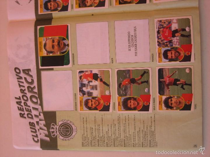 Coleccionismo deportivo: ÁLBUM CROMOS ESTE FÚTBOL LIGA 91 92 1991 1992 CON 282 CROMOS - FOTOS DE TODAS LAS HOJAS - Foto 26 - 60004411