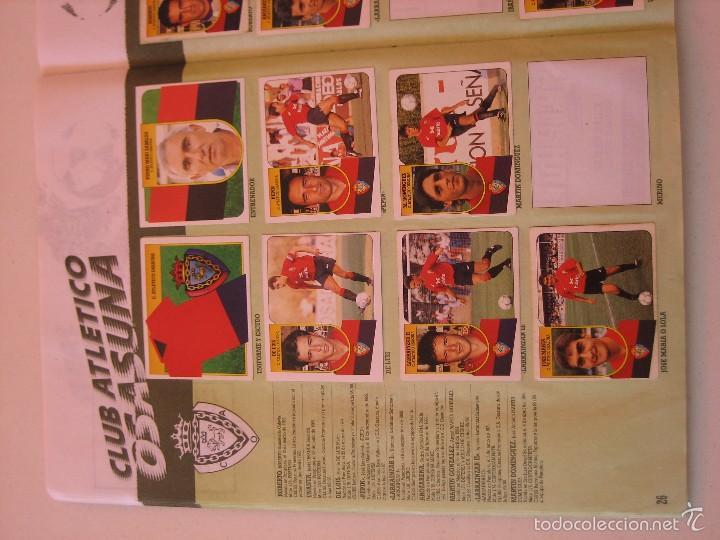 Coleccionismo deportivo: ÁLBUM CROMOS ESTE FÚTBOL LIGA 91 92 1991 1992 CON 282 CROMOS - FOTOS DE TODAS LAS HOJAS - Foto 28 - 60004411