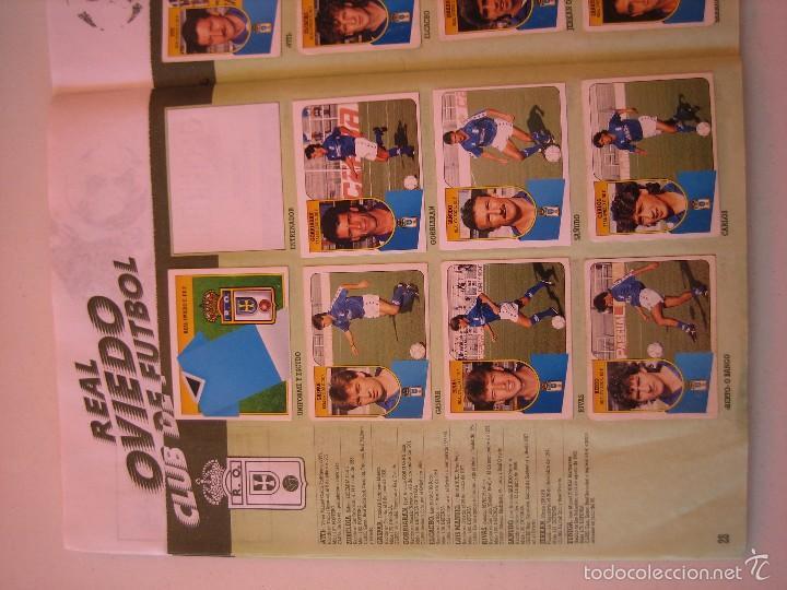 Coleccionismo deportivo: ÁLBUM CROMOS ESTE FÚTBOL LIGA 91 92 1991 1992 CON 282 CROMOS - FOTOS DE TODAS LAS HOJAS - Foto 30 - 60004411