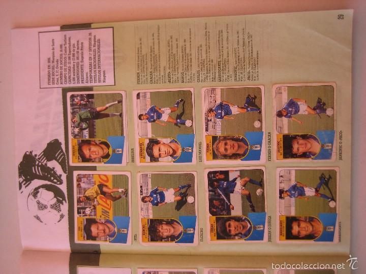 Coleccionismo deportivo: ÁLBUM CROMOS ESTE FÚTBOL LIGA 91 92 1991 1992 CON 282 CROMOS - FOTOS DE TODAS LAS HOJAS - Foto 31 - 60004411