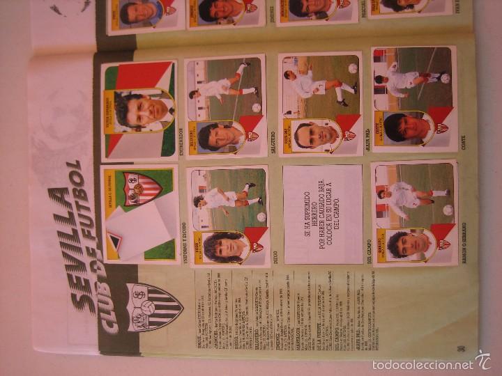 Coleccionismo deportivo: ÁLBUM CROMOS ESTE FÚTBOL LIGA 91 92 1991 1992 CON 282 CROMOS - FOTOS DE TODAS LAS HOJAS - Foto 32 - 60004411