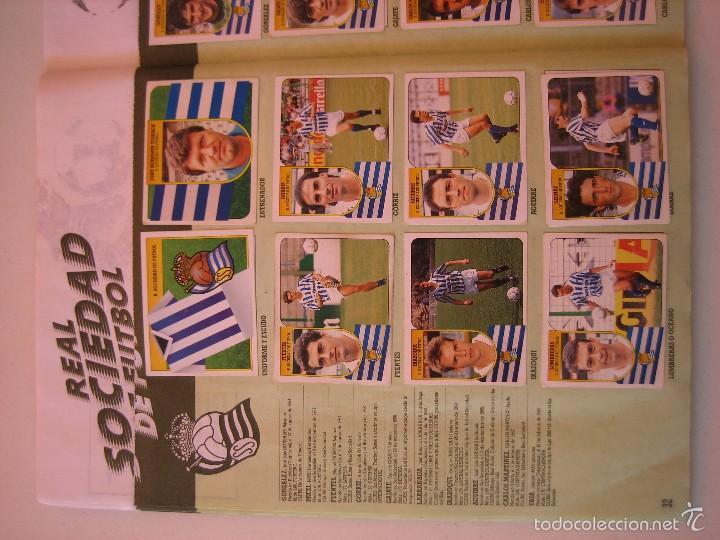 Coleccionismo deportivo: ÁLBUM CROMOS ESTE FÚTBOL LIGA 91 92 1991 1992 CON 282 CROMOS - FOTOS DE TODAS LAS HOJAS - Foto 34 - 60004411