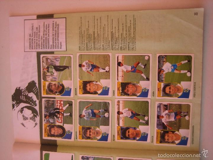 Coleccionismo deportivo: ÁLBUM CROMOS ESTE FÚTBOL LIGA 91 92 1991 1992 CON 282 CROMOS - FOTOS DE TODAS LAS HOJAS - Foto 37 - 60004411