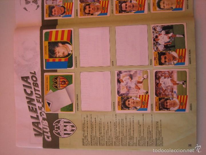 Coleccionismo deportivo: ÁLBUM CROMOS ESTE FÚTBOL LIGA 91 92 1991 1992 CON 282 CROMOS - FOTOS DE TODAS LAS HOJAS - Foto 38 - 60004411