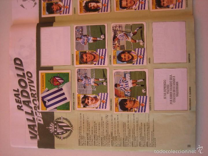 Coleccionismo deportivo: ÁLBUM CROMOS ESTE FÚTBOL LIGA 91 92 1991 1992 CON 282 CROMOS - FOTOS DE TODAS LAS HOJAS - Foto 40 - 60004411