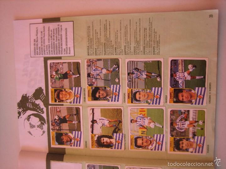 Coleccionismo deportivo: ÁLBUM CROMOS ESTE FÚTBOL LIGA 91 92 1991 1992 CON 282 CROMOS - FOTOS DE TODAS LAS HOJAS - Foto 41 - 60004411