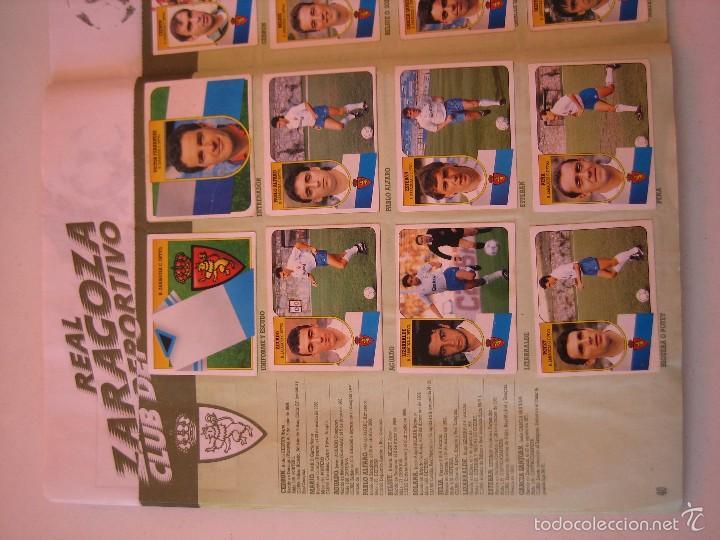 Coleccionismo deportivo: ÁLBUM CROMOS ESTE FÚTBOL LIGA 91 92 1991 1992 CON 282 CROMOS - FOTOS DE TODAS LAS HOJAS - Foto 42 - 60004411