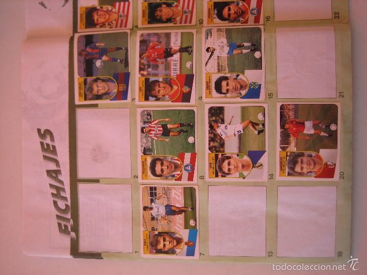 Coleccionismo deportivo: ÁLBUM CROMOS ESTE FÚTBOL LIGA 91 92 1991 1992 CON 282 CROMOS - FOTOS DE TODAS LAS HOJAS - Foto 44 - 60004411