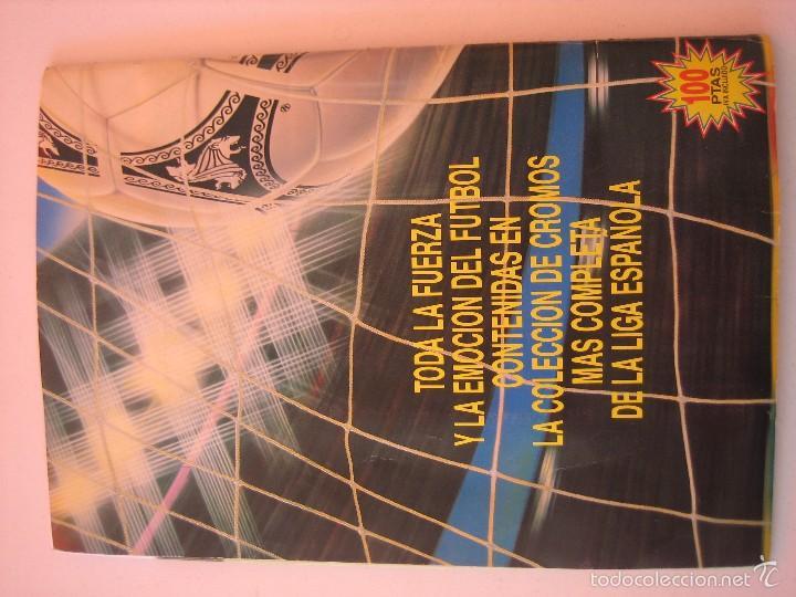 Coleccionismo deportivo: ÁLBUM CROMOS ESTE FÚTBOL LIGA 91 92 1991 1992 CON 282 CROMOS - FOTOS DE TODAS LAS HOJAS - Foto 48 - 60004411