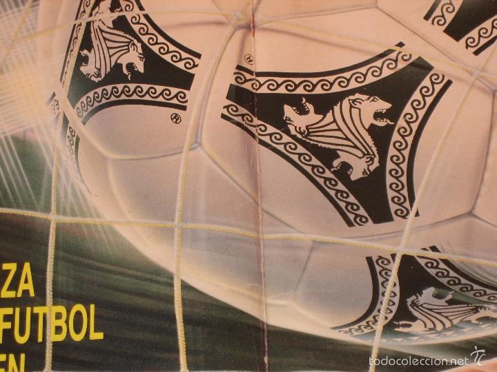 Coleccionismo deportivo: ÁLBUM CROMOS ESTE FÚTBOL LIGA 91 92 1991 1992 CON 282 CROMOS - FOTOS DE TODAS LAS HOJAS - Foto 50 - 60004411