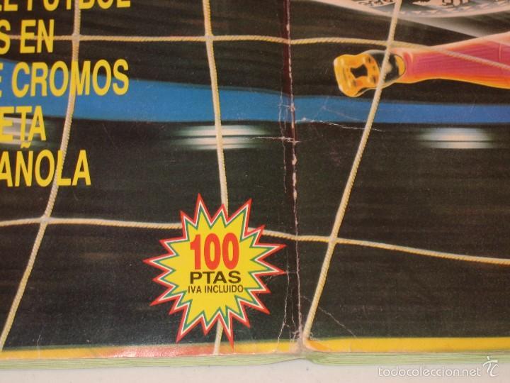Coleccionismo deportivo: ÁLBUM CROMOS ESTE FÚTBOL LIGA 91 92 1991 1992 CON 282 CROMOS - FOTOS DE TODAS LAS HOJAS - Foto 51 - 60004411