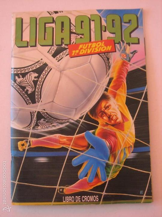 ÁLBUM CROMOS ESTE FÚTBOL LIGA 91 92 1991 1992 CON 282 CROMOS - FOTOS DE TODAS LAS HOJAS (Coleccionismo Deportivo - Álbumes y Cromos de Deportes - Álbumes de Fútbol Incompletos)