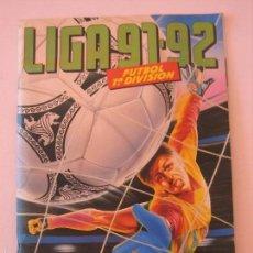 Coleccionismo deportivo: ÁLBUM CROMOS ESTE FÚTBOL LIGA 91 92 1991 1992 CON 282 CROMOS - FOTOS DE TODAS LAS HOJAS. Lote 60004411