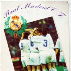 Coleccionismo deportivo: ALBUM DE CROMOS REAL MADRID C.F. 1994-95 (INCOMPLETO). MAGIC BOX. Lote 60078323