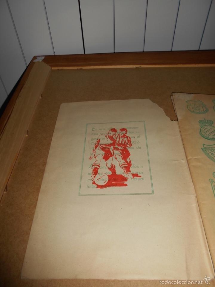 Coleccionismo deportivo: ALBUM CROMOS FUTBOL MONEDERO DEPORTIVO INFANTIL 1952-53 147 CROMOS MUY MUY DIFICL MIRA DESCRIPCION - Foto 3 - 60291783