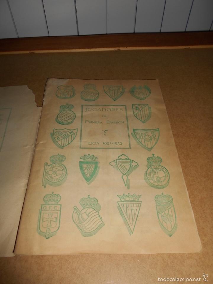 Coleccionismo deportivo: ALBUM CROMOS FUTBOL MONEDERO DEPORTIVO INFANTIL 1952-53 147 CROMOS MUY MUY DIFICL MIRA DESCRIPCION - Foto 4 - 60291783