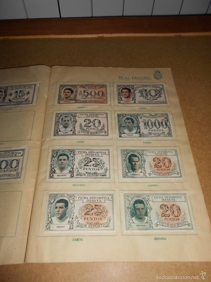 Coleccionismo deportivo: ALBUM CROMOS FUTBOL MONEDERO DEPORTIVO INFANTIL 1952-53 147 CROMOS MUY MUY DIFICL MIRA DESCRIPCION - Foto 6 - 60291783