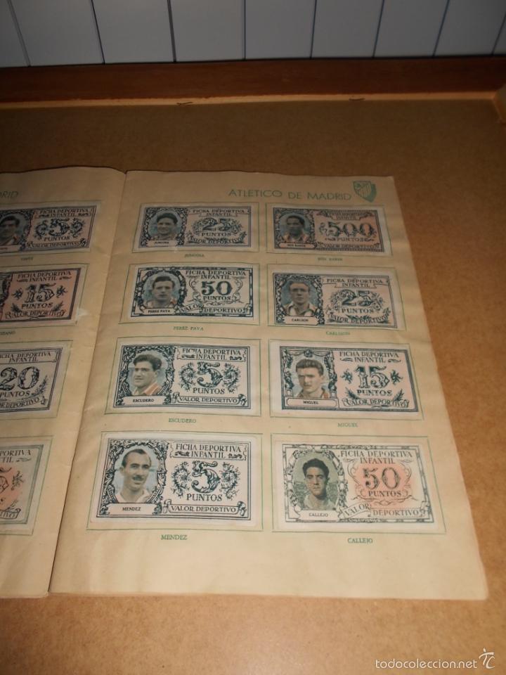 Coleccionismo deportivo: ALBUM CROMOS FUTBOL MONEDERO DEPORTIVO INFANTIL 1952-53 147 CROMOS MUY MUY DIFICL MIRA DESCRIPCION - Foto 12 - 60291783