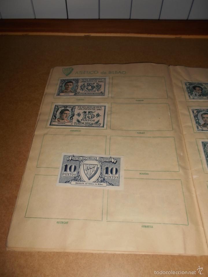 Coleccionismo deportivo: ALBUM CROMOS FUTBOL MONEDERO DEPORTIVO INFANTIL 1952-53 147 CROMOS MUY MUY DIFICL MIRA DESCRIPCION - Foto 16 - 60291783