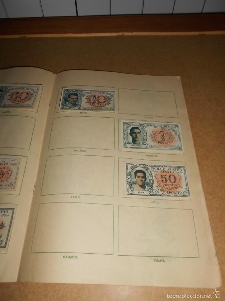 Coleccionismo deportivo: ALBUM CROMOS FUTBOL MONEDERO DEPORTIVO INFANTIL 1952-53 147 CROMOS MUY MUY DIFICL MIRA DESCRIPCION - Foto 33 - 60291783