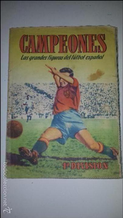 CAMPEONES - ED. BRUGERA (Coleccionismo Deportivo - Álbumes y Cromos de Deportes - Álbumes de Fútbol Incompletos)