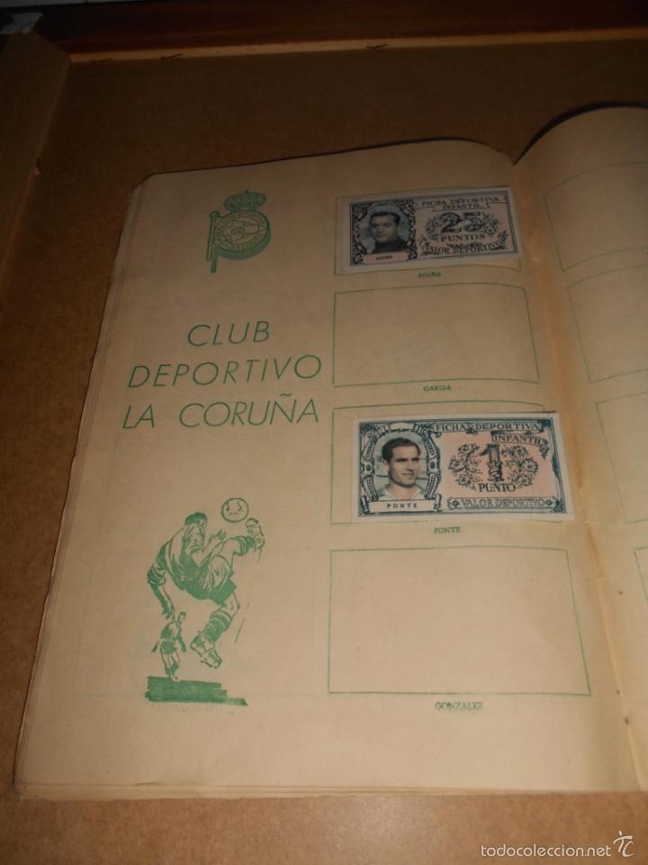 Coleccionismo deportivo: ALBUM CROMOS FUTBOL MONEDERO DEPORTIVO INFANTIL 1952-53 147 CROMOS MUY MUY DIFICL MIRA DESCRIPCION - Foto 45 - 60291783