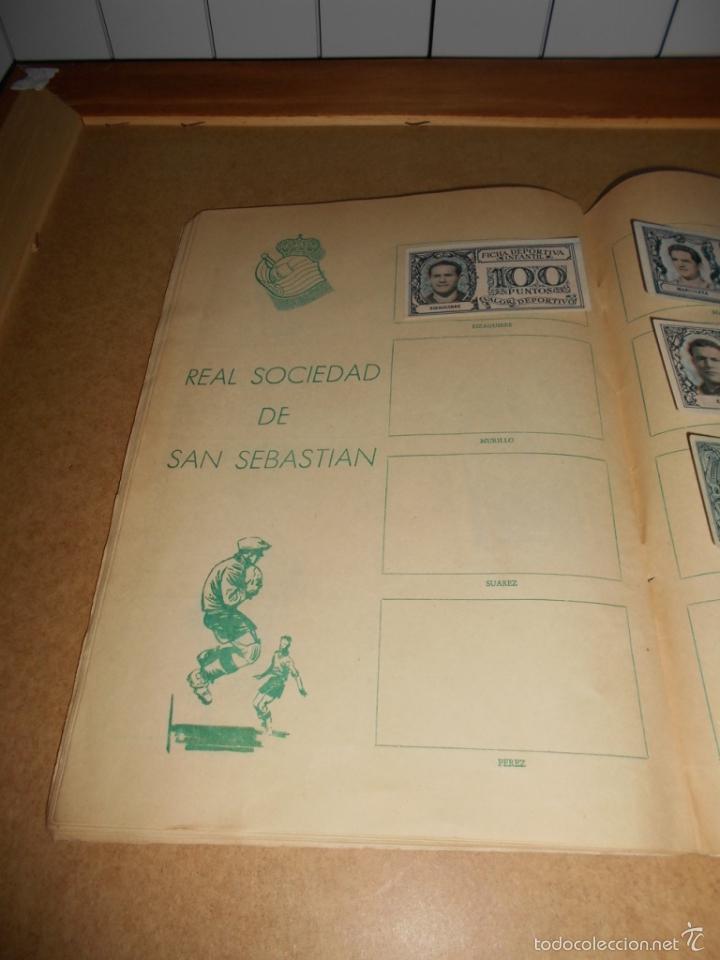 Coleccionismo deportivo: ALBUM CROMOS FUTBOL MONEDERO DEPORTIVO INFANTIL 1952-53 147 CROMOS MUY MUY DIFICL MIRA DESCRIPCION - Foto 49 - 60291783