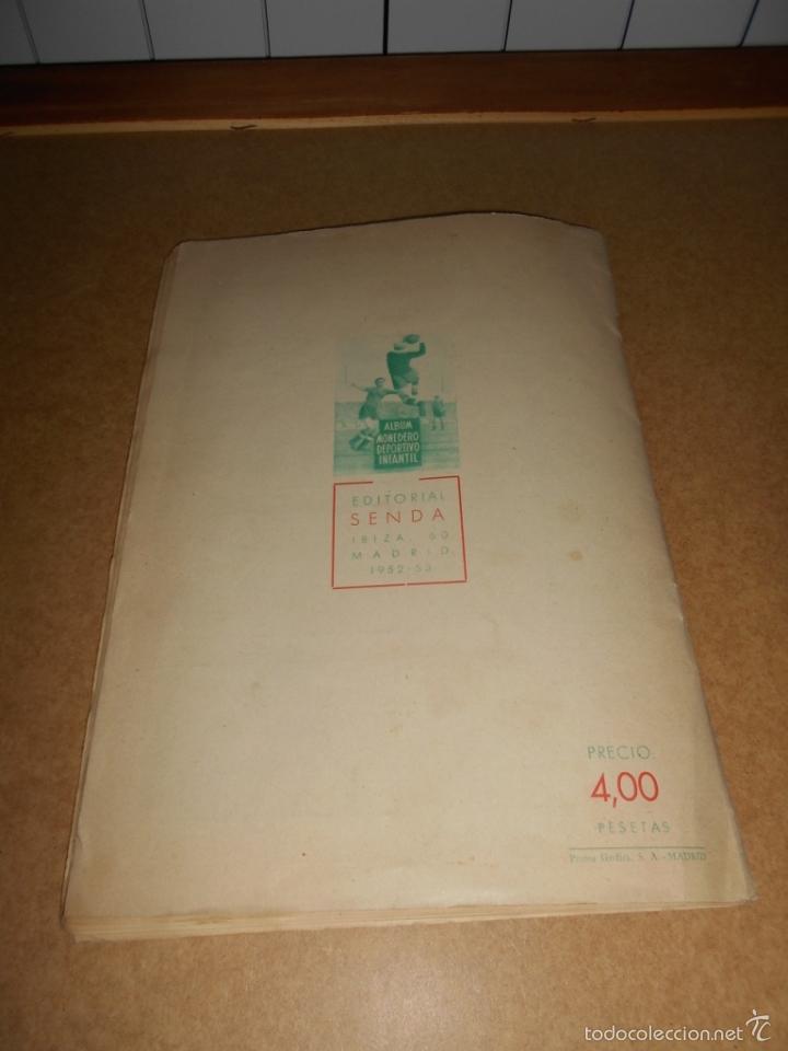 Coleccionismo deportivo: ALBUM CROMOS FUTBOL MONEDERO DEPORTIVO INFANTIL 1952-53 147 CROMOS MUY MUY DIFICL MIRA DESCRIPCION - Foto 59 - 60291783