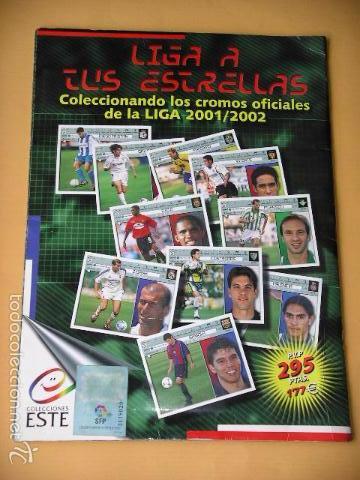 Coleccionismo deportivo: Álbum de Cromos fútbol, Liga 2001/2002, 01/02, ed. Este, contiene 465 cromos, muy completo ercom - Foto 2 - 60407615