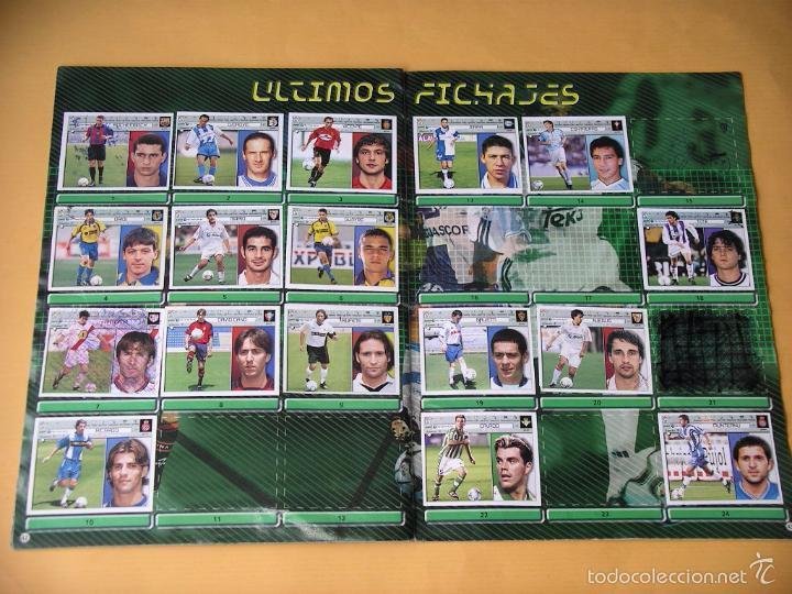 Coleccionismo deportivo: Álbum de Cromos fútbol, Liga 2001/2002, 01/02, ed. Este, contiene 465 cromos, muy completo ercom - Foto 3 - 60407615