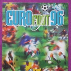 Coleccionismo deportivo: ALBUM CROMOS, EURO FOOT 96, FUTBOL, EUROPEAN FOOTBALL CHAMPIONSHIP, TIENE 52 CROMOS. Lote 60437563