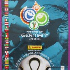 Coleccionismo deportivo: ALBUM CROMOS, FIFA WORLD GERMANY 2006, FUTBOL, PANINI, TIENE 118 CROMOS. Lote 60437935