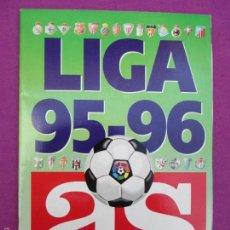 Coleccionismo deportivo: ALBUM CROMOS, LIGA 1995-96, OBSEQUIO DE AS, FUTBOL, TIENE 127 CROMOS, . Lote 60815119