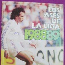 Coleccionismo deportivo: ALBUM CROMOS, LOS ASES DE LA LIGA 1988-89, OBSEQUIO DE AS, FUTBOL, TIENE 234 CROMOS, A. Lote 60815635