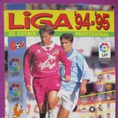 Coleccionismo deportivo: ALBUM CROMOS, LIGA 94-95 DE FUTBOL PROFESIONAL, PANINI, TIENE 256 CROMOS,. Lote 60934719