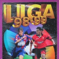 Coleccionismo deportivo: ALBUM CROMOS, LIGA 98-99, 1998-1999, FUTBOL, ESTE, TIENE 177 CROMOS, A. Lote 60939067