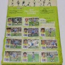 Coleccionismo deportivo: ALBUM DE FUTBOL DE LA LIGA 82 / 83, INCOMPLETO, ED. ESTE, LE FALTAN LAS PORTADAS, CONTIENE MUCHOS FI. Lote 60980075