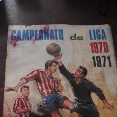 Coleccionismo deportivo: ALBUM CROMOS-CAMPEONATO DE LIGA 1970-71.DISGRA.SIN CROMOS- MAL ESTADO.. Lote 61204351