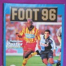 Coleccionismo deportivo: ALBUM CROMOS, FOOT 96, PANINI, CAMPEONATO DE FRANCIA,NO TIENE CROMOS, . Lote 61293131