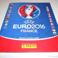 Coleccionismo deportivo: ALBUM VACIO PLANCHA SIN CROMOS UEFA EURO2016 FRANCE EURO 2016 FRANCIA PANINI. Lote 69532751