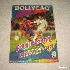 Coleccionismo deportivo: FUTBOL LIGA 97-98 . BOLLYCAO .CONTIENE 135 CROMOS. Lote 62116688