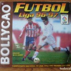 Coleccionismo deportivo: ALBUM FUTBOL LIGA BOLLYCAO 96 97 CON 174 CROMOS - PRIMERA DIVISION 1996 1997 LEER. Lote 62120784