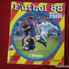 Coleccionismo deportivo: ALBUM INCOMPLETO FUTBOL 88. DE 409 CROMOS FALTAN 203.. Lote 62210568