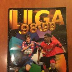 Coleccionismo deportivo: ALBUM LIGA 98 99. FALTAN 26 JUGADORES CONTANDO DOBLES Y 24 ULTIMOS FICHAJES.. Lote 62217620