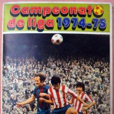 Coleccionismo deportivo: ALBUM FUTBOL CAMPEONATO LIGA 1974 1975 74 75, DISGRA FHER, VER FOTOS, ORIGINAL , N. Lote 62282376