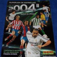 Coleccionismo deportivo: SUPER LIGA DE ESTRELLAS 2003 2004 - PANINI. Lote 62404936